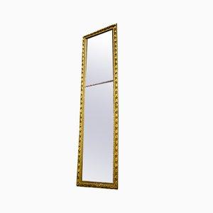 Antiker niederländischer Spiegel mit goldenem Rahmen, 1880er