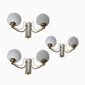 Sconces, 1970s, Set of 3