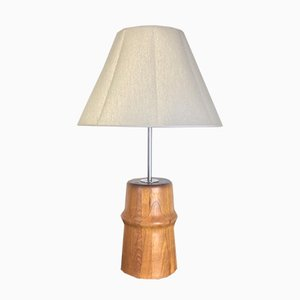 Vintage Scandinavian Teak Table Lamp, 1960s