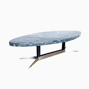 Green Marble Coffee Table, 1970s