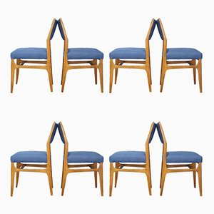Mid-Century Model 111 Dining Chairs by Gio Ponti for Cassina, 1950s, Set of 8