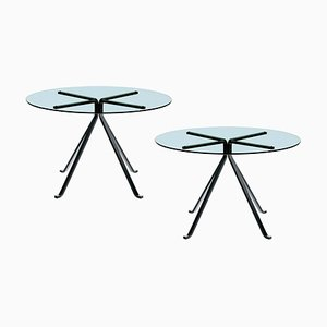Vintage Model Cuginetto Coffee Tables by Enzo Mari for Driade, 1973, Set of 2