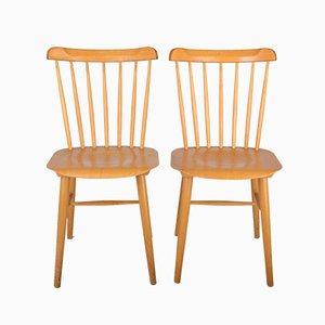 Vintage Esszimmerstühle von TON, 2er Set