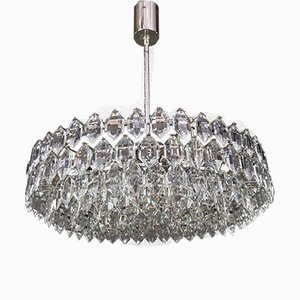 Silver Plated Chandelier by bakalowits for Bakalowits & Söhne, 1960s