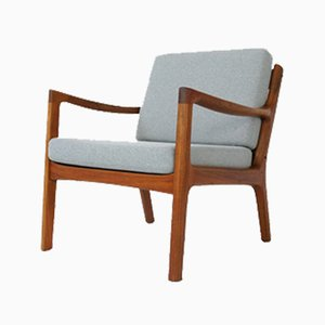 Mid-Century Danish Teak Senator Armchair by Ole Wanscher for France & Søn / France & Daverkosen