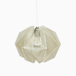 Lámpara de techo alemana Mid-Century pequeña de Paul Secon para Sompex, años 60