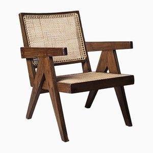 Fauteuil par Pierre Jeanneret, années 50