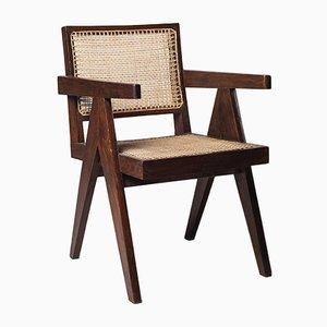 Chaise de Bureau par Pierre Jeanneret, années 50