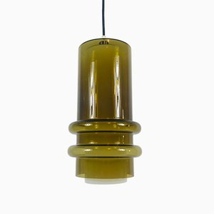 Glass Pendant Lamp by Tapio Wirkkala, 1960s