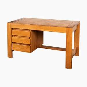 Elm Desk from Maison Regain, 1950s