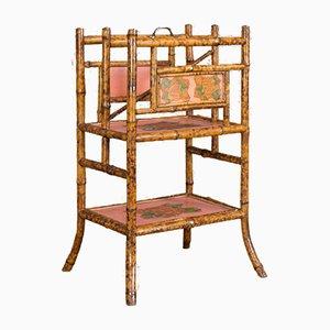 Antiker Zeitschriftenständer aus Bambus, 1880er