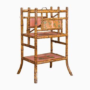 Antique Bamboo Magazine Rack, 1880s
