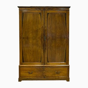 Antique French Walnut Wardrobe