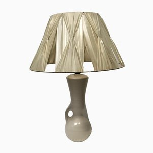 Ceramic Table Lamp by Pol Chambost, 1950s