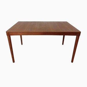 Mesa de comedor danesa extensible de teca de HW Klein para Bramin, años 60