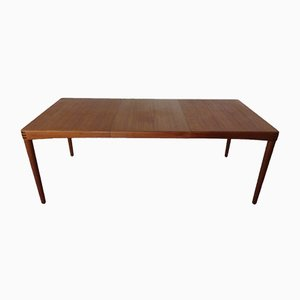 Danish Teak Extendable Dining Table by H. W. Klein for Bramin, 1960s
