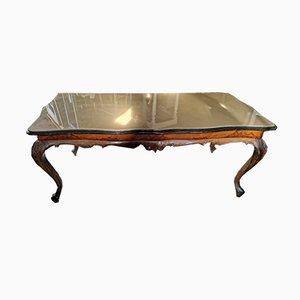 Mid-Century Italian Walnut Dining Table