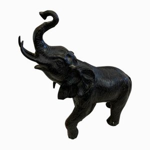 Bronze Elephant Sculpture, 1930s