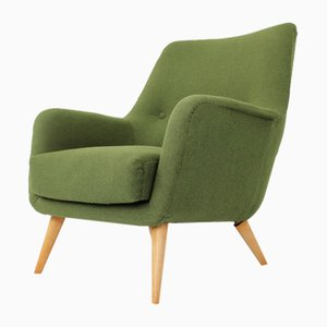 Wool Lounge Chair from Walter Knoll / Wilhelm Knoll, 1960s