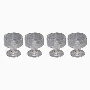 Glass Set by Timo Sarpaneva for Iittala, 1960s, Set of 4
