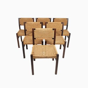SE82 Dining Chairs by martin visser for t Spectrum, 1960s, Set of 6