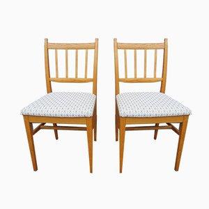 Chaises de Salle à Manger par Carl Malmsten pour Åfors Möbelfabrik, 1960s, Set de 2