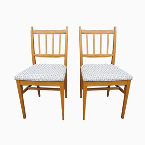 Dining Chairs by Carl Malmsten for Åfors Möbelfabrik, 1960s, Set of 2