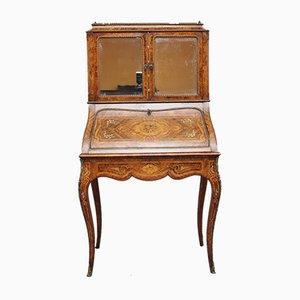 Antique Walnut & Kingwood Cabinet