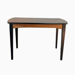 Burr Walnut Dining Table by Halas Rajmund, 1960s