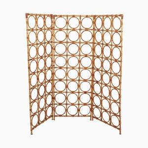 Spanischer Vintage Raumteiler aus Bambus