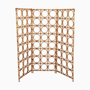 Vintage Spanish Bamboo Screen