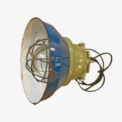 Lampada industriale di Pan Electric Mediterranea, anni '70