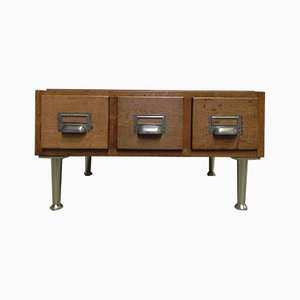 Industrial Cast Iron Cabinet, 1950s