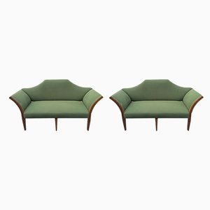 Antike Sofas, 2er Set