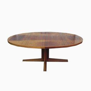Grande Table de Salle à Manger Vintage en Palissandre par John Mortensen pour Heltborg Møbler, 1960s