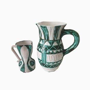 Vasen von Alexandrov Michel für Allix, 1950er, 2er Set