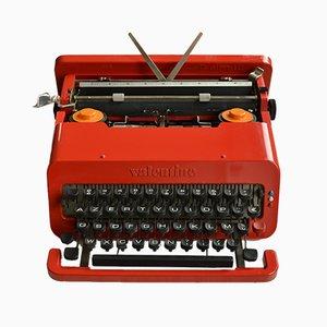 Modell Valentine Schreibmaschine von Ettore Sottsass für Olivetti, 1960er