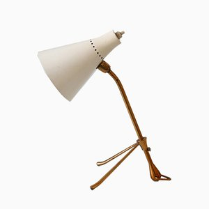 Mid-Century Italian Table Lamp by Giuseppe Ostuni for Oluce, 1950s