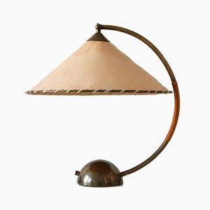 Lámpara de mesa alemana Mid-Century grande de Pitt Müller, años 50