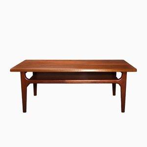 Table Basse en Teck par Niels Bach, Danemark, 1960s