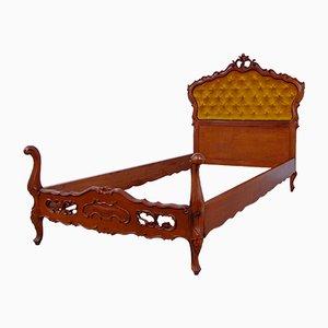 Baroque Style Walnut Dresser, 1940s