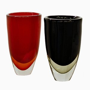 Large Vases by Romano Dona for Stefano Toso, 2000s, Set of 2