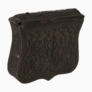 18th Century Bronze Belt Box