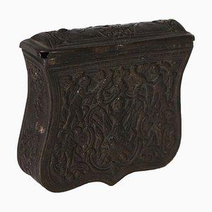 Caja para cinturón de bronce, siglo XVIII