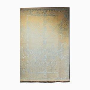 Indian Wool & Silk Carpet, 1982