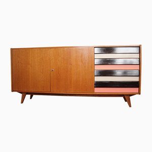 Sideboard with Bookcase by Jiří Jiroutek for UP Závody, 1960s