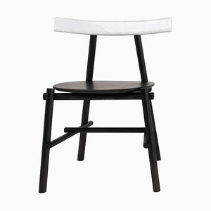 Marble Ronin Padded Side Chair by Frederik Werner & Emil Lagoni Valbak