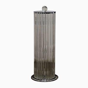 Art Deco Style Murano Glass Floor Lamp, 1980s