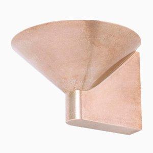 Wandlampe aus angeschwärzter Bronze von Henry Wilson
