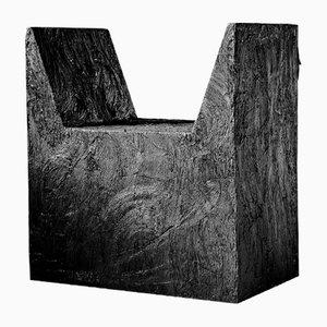 Sgabello scultoreo in gomma di Arno Declercq